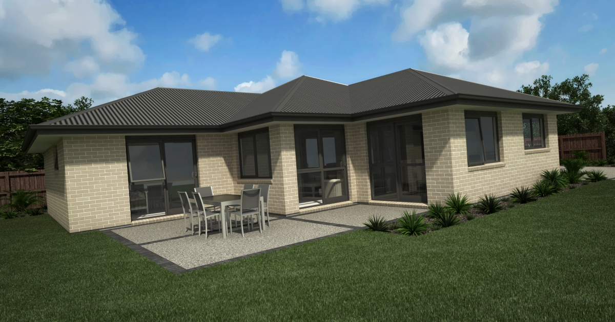 NZ163 east cape 4 bedroom house design - 27+ 4 Bedroom Small House Design Pics