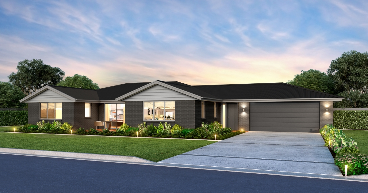 Kaimanawa House Plan With 4 Bedrooms Amp 2nd Living Room