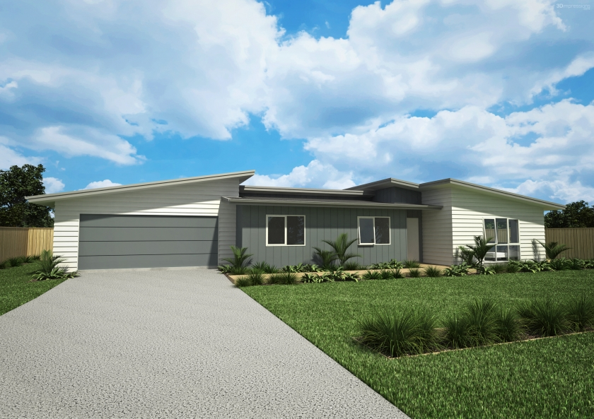 NZ153 anchorage 3 bedroom house design