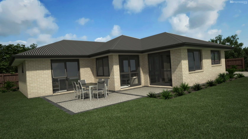 east cape 4 bedroom single storey double garage latitude homes