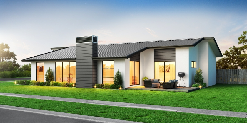 NZ185 Wigatui 3 bedroom home rear front